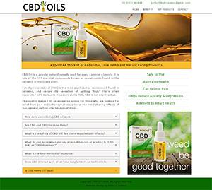 CBD Oils Website