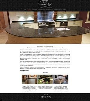 S&N Stoneworks Website