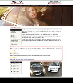 Yaz Taxi Website